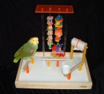 Junior FunStation Parrot Playgym by FunTime Birdy
