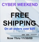 Cyber Weekend Sale