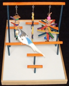 FunTime Birdy Parakeet Bird Stand