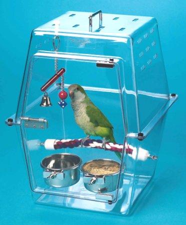 Как сделать переноску для птиц