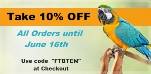 Take 10% Off at FunTime Birdy