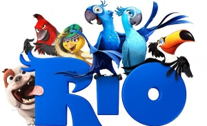 Rio the animated parrot movie