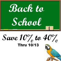 Back to School Sale at FunTime Birdy