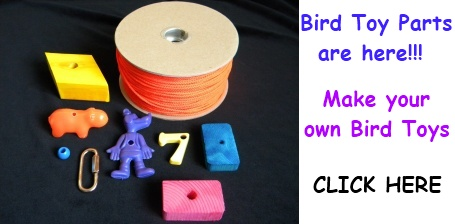 Banner For Bird Toy Parts